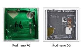 iPod nano 7G Cover im Vergleich mit dem Vorgänger 6G